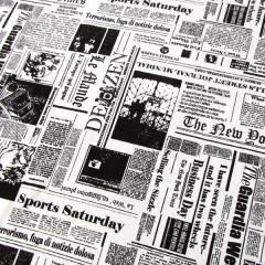 Tecido Jacquard Decor - Jornal