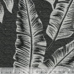 Tecido Jacquard Decor Soft Dupla Face - Folhagem - 58% Algodão 42% Poliéster - Largura 1,40m