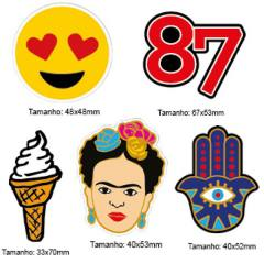 Kit Patches Termocolante - Kit 11 Frida - 5 unidades