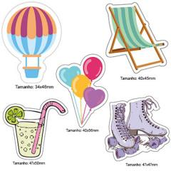 Kit Patches Termocolante - Kit 18 Holiday - 5 unidades