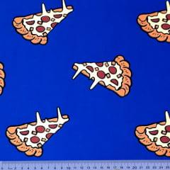 Tecido Tricoline Pizza - 100% Algodão - Largura 1,50m