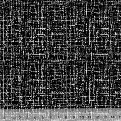 Tecido Tricoline Riscadinho Pátina - Preto - 100% Algodão - Largura 1,50m