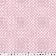 Tricoline Azulejos Mini - Rosa Claro