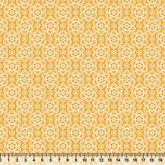 Tecido Tricoline Coleção Composê Ideal Ouro - Flores