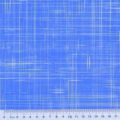 Tecido Tricoline Coleção Riscadinho Rústico - Azul Royal