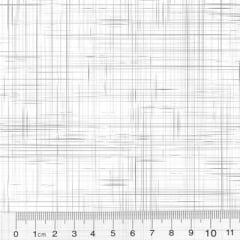 Tecido Tricoline Coleção Riscadinho Rústico - Branco