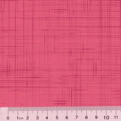Tecido Tricoline Coleção Riscadinho Rústico - Rosê Tons