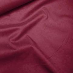 Tecido Tricoline Com Elastano Lisa - Vinho Candy
