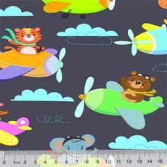 Tricoline Digital Pequenos Aviadores