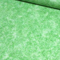 Tricoline Floral - Liberty Manchado - Verde Lemon