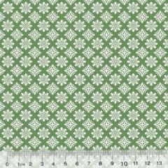 Tecido Tricoline Garden Unity - Arábico - Verde (Largura: 1,50 m)