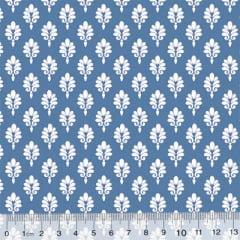 Tricoline Garden Unity - Brasão - Azul Antigo (Largura: 1,50 m)
