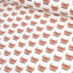 Tricoline Gatos de Óculos