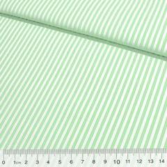 Tricoline Listras M - Verde Limão