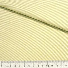 Tecido Tricoline Fio-Tinto Listras P - Verde Limão - 100% Algodão - Largura 1,50m