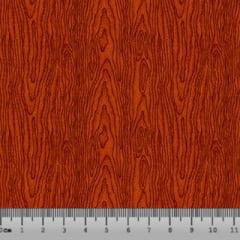 Tricoline Madeira Textura - Vermelho