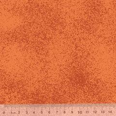 Tricoline Manchado / Poeirinha - Laranja Tons