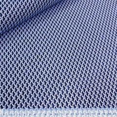 Tecido Tricoline Mista Pop Textoleen Dimensional - Azul