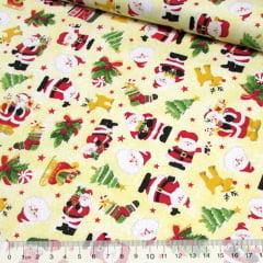 Tricoline Natal - Papai Noel