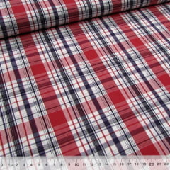 Tecido Tricoline Xadrez Madras (REF 038) - 100% Algodão - Largura 1,50m