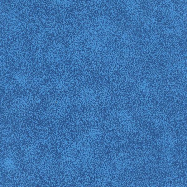 Tecido Tricoline Mista Manchado/Poeirinha Fumê Azul - 90% Algodão 10% Poliéster - Largura 1,50m