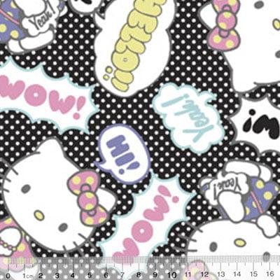 Tecido Tricoline Personagens F. Maluhy - Hello Kitty Wow