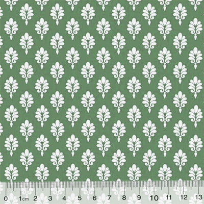 Tricoline Garden Unity - Brasão - Verde (Largura: 1,50 m)