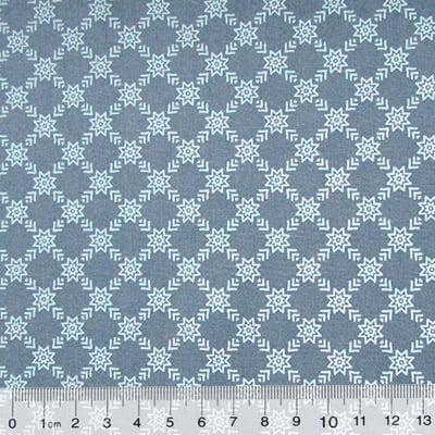 Tricoline Garden Unity - Flechas - Azul Antigo (Largura: 1,50 m)
