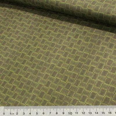 Tecido Tricoline Green Frame - Verde