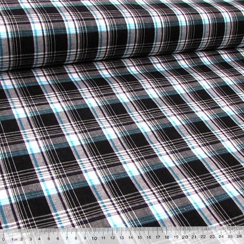 Tecido Tricoline Light - Xadrez Madras (REF 025)