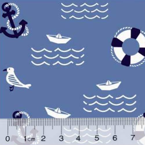 Tricoline Marítimo Seagull - Azul Marinho
