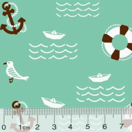 Tricoline Marítimo Seagull - Verde