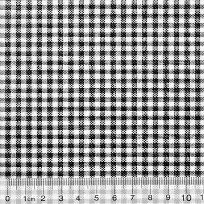 66cca4604c Tecido Tricoline Mista Pop Textoleen Xadrez - Preto - 50% Algodão 50%  Poliéster - Largura 1,38m