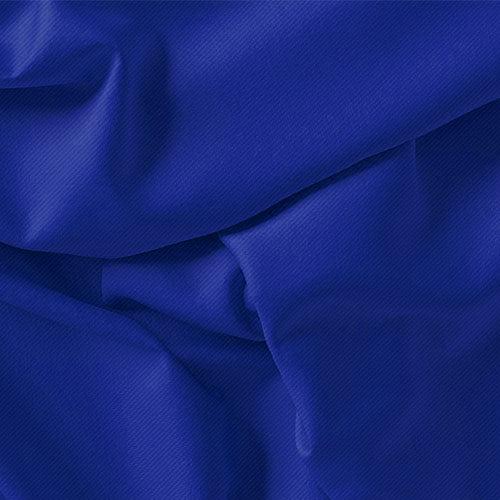 Tecido Viscose Lisa Premium - Azul Royal - 100% Viscose - Largura 1,45m