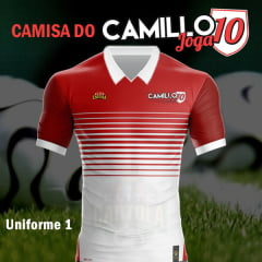 CAMISA DO CAMILLO JOGA10 [UNIFORME 1]