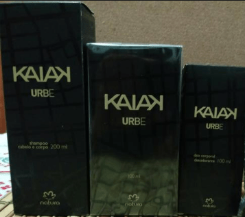 Kit Natura Kaiak Urbe Masculino