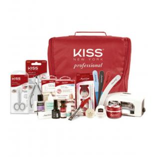Kit Unha Em Gel - First Kiss - Bivolt - Frete Gratis