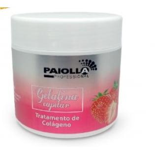 Gelatina Capilar de Morango - Tratamento de Colágeno - 500G