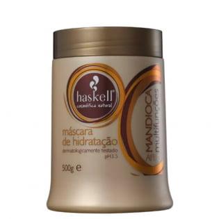 Máscara de Hidratação Haskell Mandioca Multifunções Afro - 500g