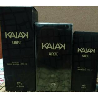 Kit Natura Kaiak Urbe Masculino