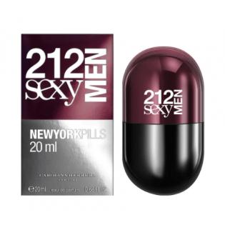 PERFUME MASCULINO 212 SEXY MEN 20ML - CAROLINA HERRERA