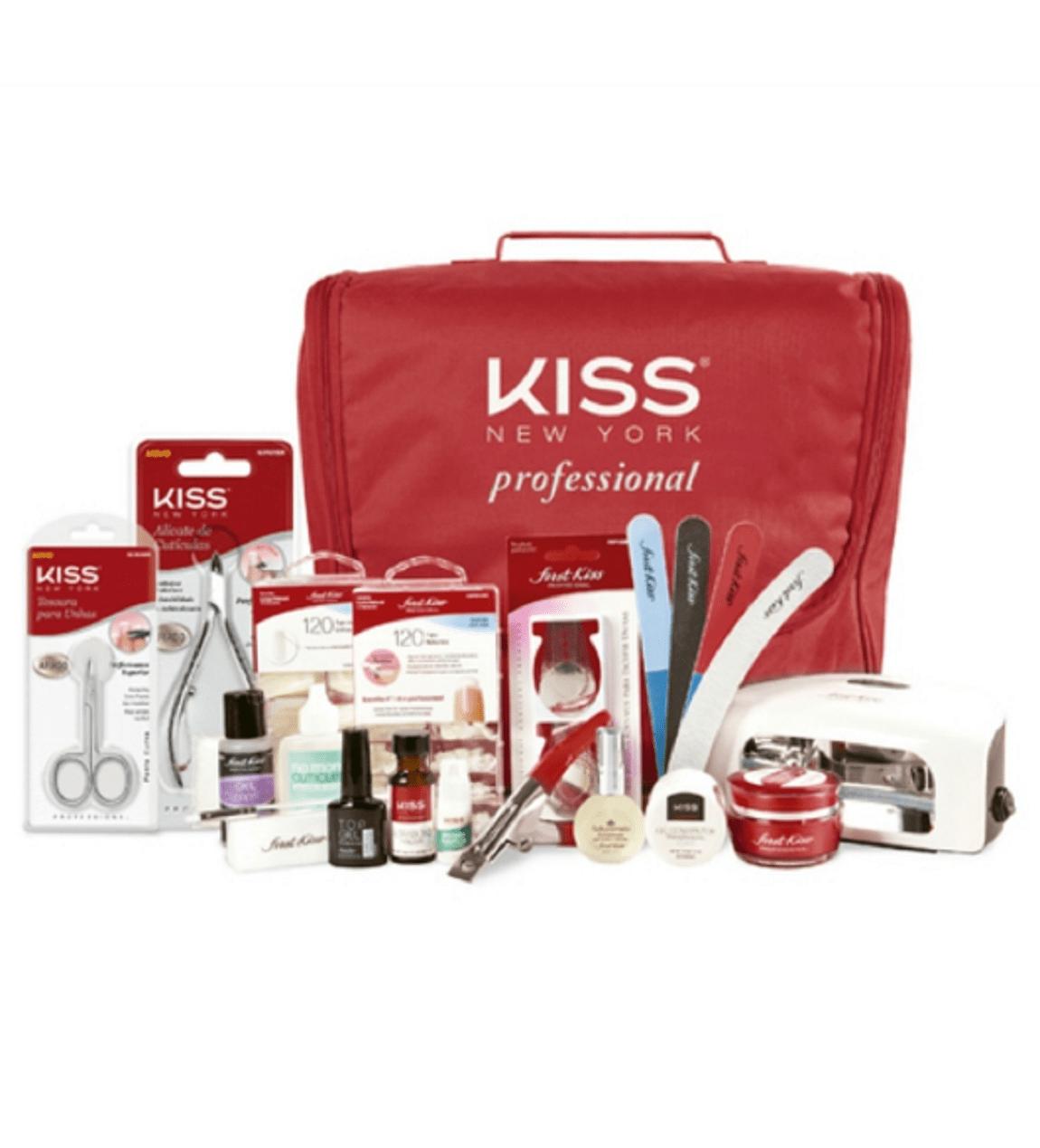 Kit Unha Em Gel - First Kiss - Bivolt