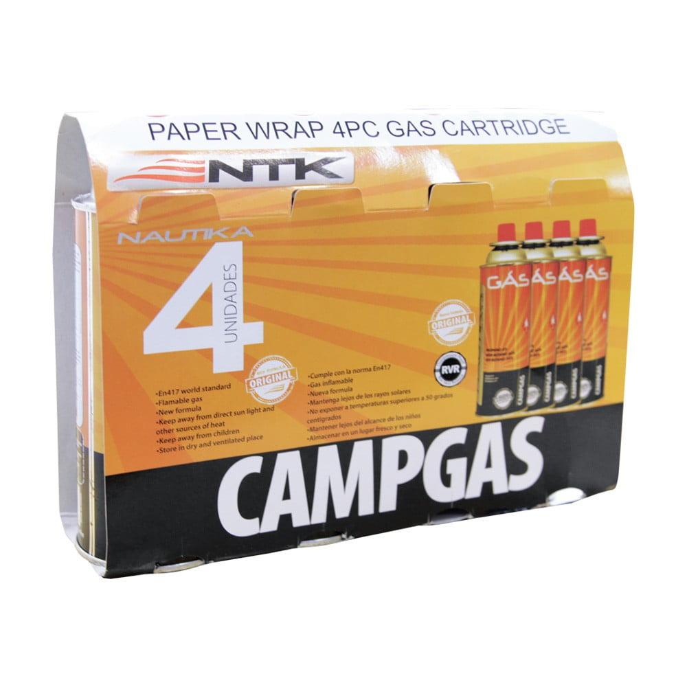 Kit CampGás - 4 unidades