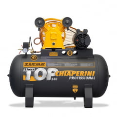 Compressor Ar Top 10 MPV RCH 150L c/MM 2HP 110 - Chiaperini
