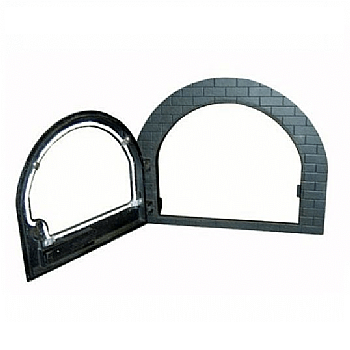 Porta Igloo Com Vidro Para Forno