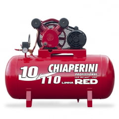 Compressor Ar 10/110L 2HP Linha Red - Chiaperini