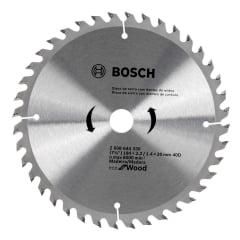 """Disco de Serra com Dentes de Widea 184mm (7.1/4"""") 40D - Bosch"""