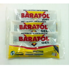 BARATOL GEL 10G - CHEMONE - Kit com 3 unidades