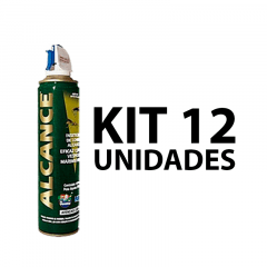 Alcance Inseticida 400ml Kit Com 12 Unidades