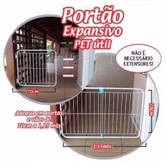 Portão Expansivo Pet Util
